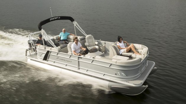 Deluxe Pontoon Boat Rental from Seaforth Boat Rentals